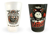 Customized cups printed in four-color process