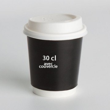 30cl Paper Cup with lid