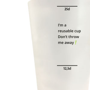 Scale on a personalized cup