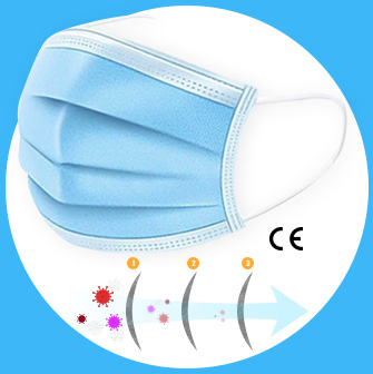 Masque chirurgical de protection jetable